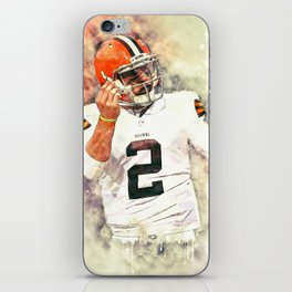 Johnny Manziel iPhone Skin