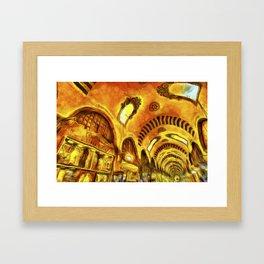 Spice Bazaar Van gogh Framed Art Print