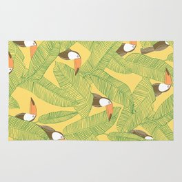Summer With Toucan Rug