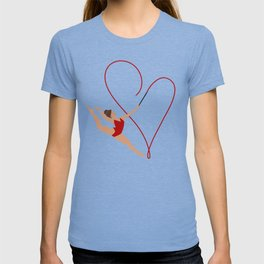 Red Heart Gymnast T-shirt