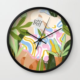 How to Make Your Problems Disappear Wall Clock