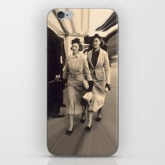 Caught off guard by a street photographer - the war years iPhone & iPod Skin