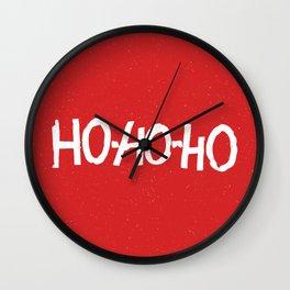 Christmas Ho-Ho-Ho Wall Clock