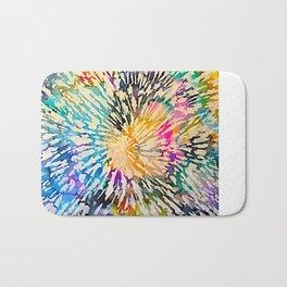 Multi Color Explosion Bath Mat