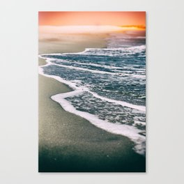 Tide Canvas Print