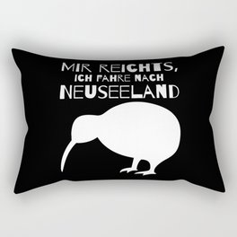 Enough For Me, I'm Going To New Zealand Rectangular Pillow