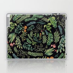 circular garden at nigth Laptop & iPad Skin