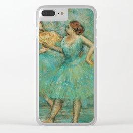 Edgar Degas - Two Dancers, 1905 Clear iPhone Case