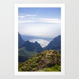 Tenerife's landscape Art Print