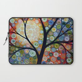 Waiting For the Moon Laptop Sleeve