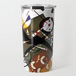 Kandinsky Sur Blanc, 1923 Travel Mug