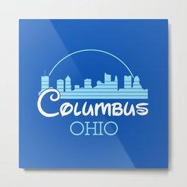 Columbus, Ohio Metal Print