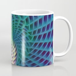Warping Yellow Coffee Mug