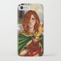 dark souls iPhone & iPod Cases featuring Dark Souls 2  - Emerald Herald by Vivid-K