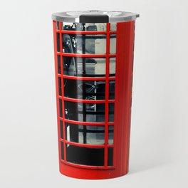 British Telephone Booth Travel Mug