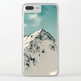 Snow Peak Clear iPhone Case
