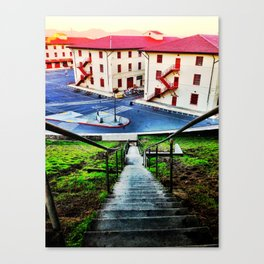 step down Canvas Print