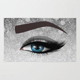 Glam diamond lashes eye #1 Rug