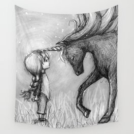 Enchantment of the Unicorn Wall Tapestry