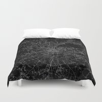 moscow Duvet Covers featuring Moscow by Line Line Lines
