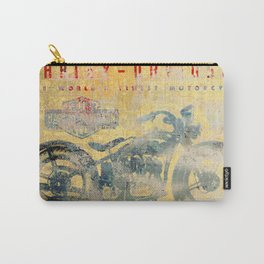 HD - Vintage Motorcycle Carry-All Pouch