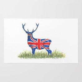 BRITISH Red Deer Rug