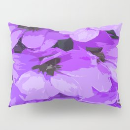 Lupins are lilac Pillow Sham