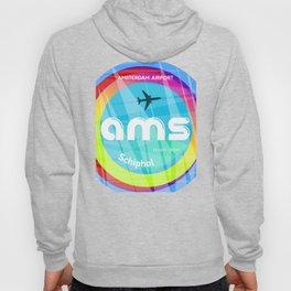 AMS Amsterdam airport Hoody
