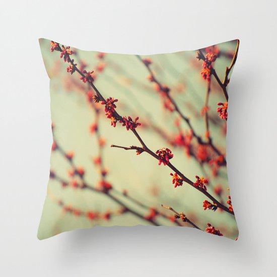 When spring was autumn... Throw Pillow