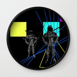Monday duo Wall Clock