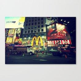 Times Square, New York City Canvas Print