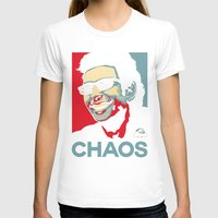 jurassic park T-shirts featuring 'Chaos' Ian Malcolm (Jurassic Park) by Tabner's