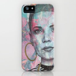 Halsey - Without Me iPhone Case