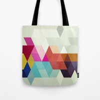 new order Tote Bags featuring New Order by Three of the Possessed