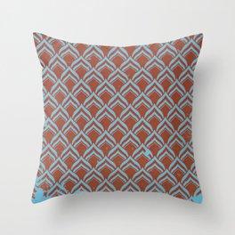 leafpttrn Throw Pillow