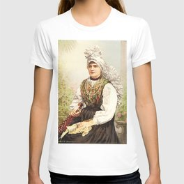 Romanian Gypsy girl T-shirt
