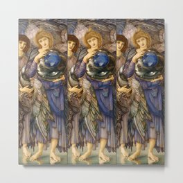 "Edward Burne-Jones ""The Days of Creation - Day 2"" Metal Print"