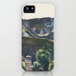 Edward Hopper - Guanajuato, Mexico, 1953 iPhone Case