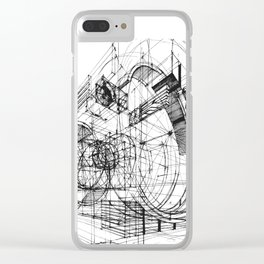 Architecture Fantasy 00347 Clear iPhone Case