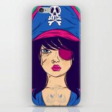 Dangerous Girls - Pirate iPhone & iPod Skin