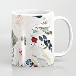 Loose Watercolor Bouquet Kaffeebecher
