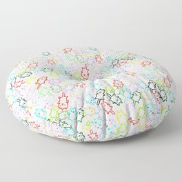 space kittens Floor Pillow