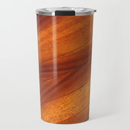 Woodgrain Travel Mug