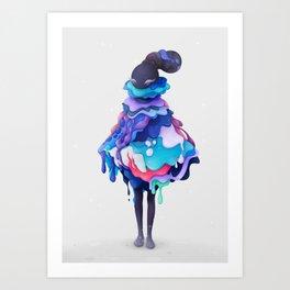 Lollipop Queen Art Print