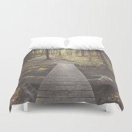 My home, the forest Duvet Cover