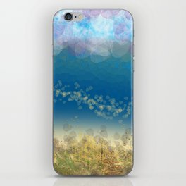 Abstract Seascape 02 wc iPhone Skin