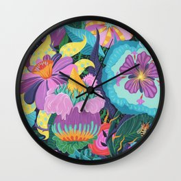 The Double Bee Wall Clock