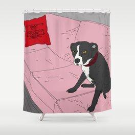 Heavy Duty Dog Shower Curtain