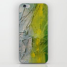 Tropicana Abstract Painting Textured iPhone Skin