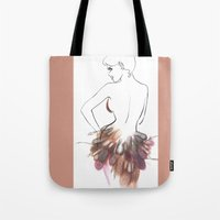 chic Tote Bags featuring Chic by Sarah Soh